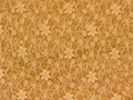 Yellow lace fabric textile texture Royalty Free Stock Photography