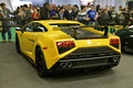 Yellow Lamborghini Gallardo Royalty Free Stock Images