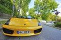Yellow Lamborghini Royalty Free Stock Photo