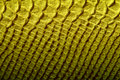 Yellow Leather TExture Royalty Free Stock Photo