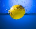 Yellow lemon Royalty Free Stock Photos