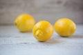 Yellow lemons Royalty Free Stock Photo