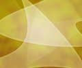 Yellow Light Shapes Background Stock Photo
