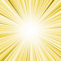 Yellow lightburst Royalty Free Stock Photo