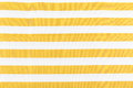 Yellow line fabric horizontal background Stock Images