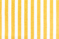 Yellow line fabric on white background texture Stock Photos