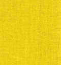 Yellow linen fabric background or texture Royalty Free Stock Image