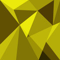 Yellow low poly design element background