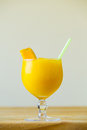 Yellow Mango Margarita Royalty Free Stock Photo
