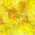 Yellow mess abstract image Stock Images