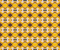 Yellow Metal Patterned Backgro...