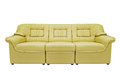 Yellow modern sofa Royalty Free Stock Photo