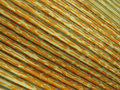 Yellow multicolored striped relief fabric Stock Images