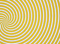 Yellow multispiral Royalty Free Stock Photo