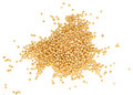 Yellow Mustard Seeds Isolated ...