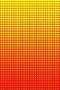 Yellow orange halftone Royalty Free Stock Photos