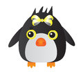 Yellow penguin cute cartoon animal Royalty Free Stock Photos