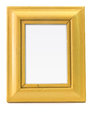 Yellow picture frame Royalty Free Stock Image
