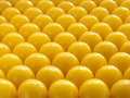 Yellow pills abstract Royalty Free Stock Photography