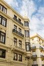 Yellow Plaster Condo Building in Valencia