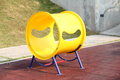 Yellow plaything Stock Images