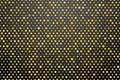 Yellow polka dots Royalty Free Stock Photo