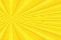 Yellow rays pop art background