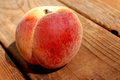 Yellow and red peach Royalty Free Stock Photo