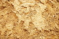 Yellow sand texture Stock Images