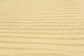 Yellow sand texture. horizontal natural stripes Royalty Free Stock Photo