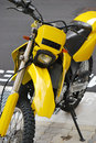 Yellow Scrambler Royalty Free Stock Photography
