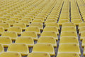 Yellow Seats Royalty Free Stock Image