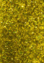 Yellow sequins close up of sequin dress Royalty Free Stock Images