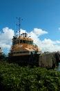 Yellow Ship Royalty Free Stock Photo