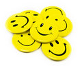 Yellow smiles Stock Photography