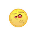 Yellow Smiling Face Disappointed Negative People Emotion Icon