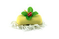 Yellow Soap With Flower. Isola...