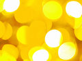 Yellow sparkles abstract background Stock Image