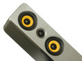 Yellow speaker Royalty Free Stock Photo
