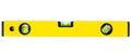 Yellow spirit level Royalty Free Stock Photo