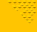 Yellow square geometric texture background  Abstract square geom Royalty Free Stock Photo