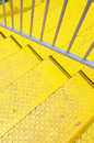 Yellow  stair Royalty Free Stock Photo