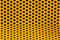 Yellow steel grid Royalty Free Stock Photo