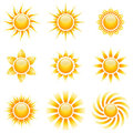 Yellow Sun Icons