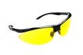 Yellow sunglasses Royalty Free Stock Photo