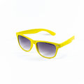 Yellow sunglasses isolated Royalty Free Stock Photo