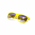 Yellow sunglasses isolated on white Royalty Free Stock Photo