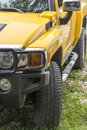 Yellow SUV Royalty Free Stock Photo
