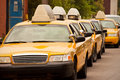 Yellow Taxicabs