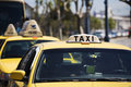 Yellow Taxis Stock Photography